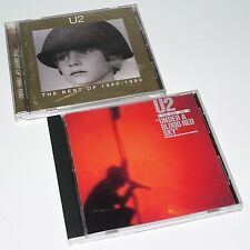 U2 - THE BEST OF 1980 - 1990 / UNDER A BLOOD RED SKY - 2 x CD - New Years Day