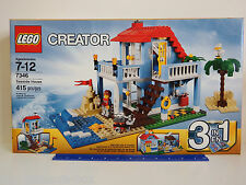 """LEGO CREATOR 7346 """"3 in 1"""" SEASIDE HOUSE - 415 piece set - Ages 7 - 12 years"""