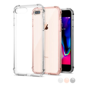 Apple iPhone 7 Plus Spigen®[Crystal Shell] Shockproof Case Clear Bumper Cover
