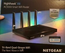 NETGEAR Nighthawk X8 AC5000 Smart WiFi Router(no box)