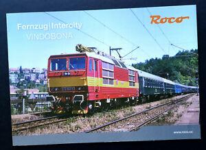 Roco Prospekt Fernzug / Intercity VINDOBONA., DIN A4, 12 Seiten, 2021, Neu!