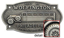 Wolfington Body Builder Plate 1920's Bus & Truck tag