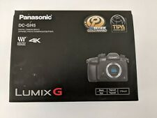 MINT Panasonic Lumix GH5 Mirrorless Digital Camera (Body + extras)  VLOG
