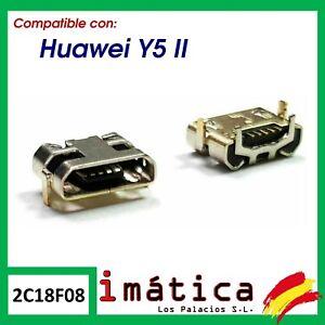 CONECTOR DE CARGA PARA HUAWEI Y5 2 II Y5-2 MICRO USB PUERTO DC DATOS CLAVIJA