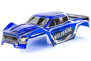 HSP 1/10 Wolverine BL Truck Painted Blue Body Shell