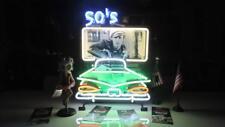 Neon 50`s Autokino US-Car Diner Neon Reklame Amerika 50er Jahre Leuchtschild