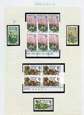 Flowers Mint Never Hinged/MNH Falkland Island Stamps