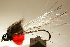 ICE FLIES. Streamer fly, Super tinsel cone head. Size 2, 4, 6, 8 and 10