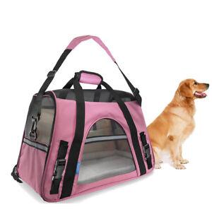 Oxford Breathable Mesh Soft Sided Pet Cat/Dog Comfort Travel Tote Shoulder Bag