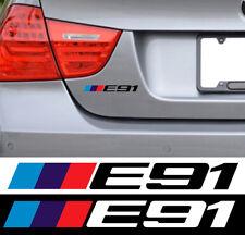 LOGO E91 POUR BMW MOTORSPORT SPORT RACING 18cm AUTOCOLLANT STICKER BA242