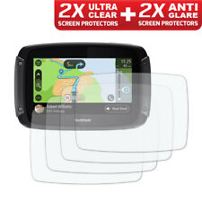 TOMTOM RIDER 500 / 550  Screen Protector 2 x Ultra Clear & 2 x Anti Glare