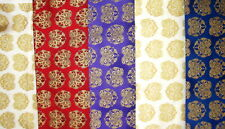 KAUFMAN FABRIC - VALLEY OF THE KINGS 2- SET OF 5 MEDALLION  PRINT FAT QUARTERS