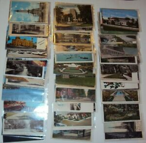 110 Indiana Sleeved Postcards, Views & Topics