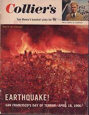 Collier's Magazine March 30 1956 Earthquake San Francisco 1906 072417nonjhe