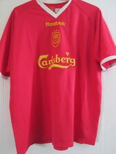 "Liverpool 2000-2001 Home Football Shirt Champions League 46-48""  /43685"