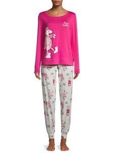 Secret Treasures Women's Pajama Set Pants & Long Sleeve 3XL 22-24W Sheep Walker