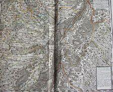 Carte très particulière des Environs de la Ville de STRASBOURG, Paris 1681
