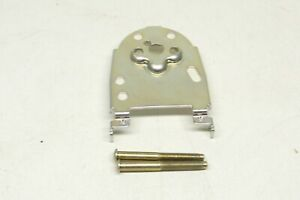 Kwikset SmartCode 909 Touchpad Electronic Deadbolt Satin Nickel Mounting Plate
