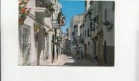 BF29550 benidorm calle tipica spain  front/back image