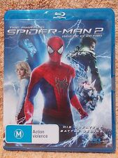 THE AMAZING SPIDER MAN 2 RISE OF ELECTRO BLU RAY M R4