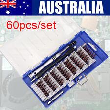 60 IN 1 Repair Tool Kit Precision Small Screwdriver Set 54 Bit Magnetic Driver
