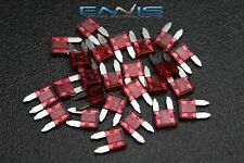 (100) PCK ATM 10 AMP FUSES MINI FUSE BLADE STYLE CAR BOAT AUTOMOTIVE AUTO ATM10