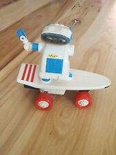 1986 SKATEBOT Playtime Products Robot Skateboard Toy Hong Kong WORKS