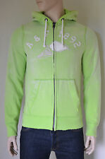 NEW Abercrombie & Fitch Cobble Hill Hooded Sweatshirt Hoody Green M RRP £90