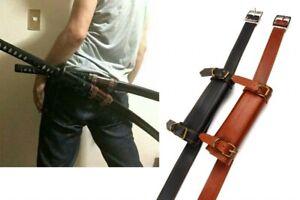 Japanese Sword Bag Sword Carrying Case Waistband Strap for Samurai Katana Sword