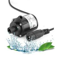 Ultra-quiet Mini DC 12V 2.2M 280L/H Brushless Motor Submersible Water Pump ~best