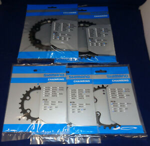 Shimano Deore FC-M6000 Chainring 2x10-Speed - 34/24 - 36/26 - 38/28