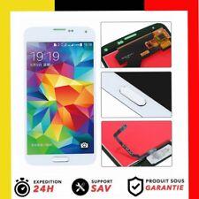 Für Samsung Galaxy S5 SM-G900F LCD Display Einheit Touchscreen Frontglas weiss