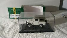Ebbro Toyota Fj40 Bj40 1:43 Scale Diecast Model White Mint In Display Box