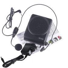 Mini 8 Multi Voice Changer Microphone Megaphone Loudspeaker For Phone PC Black