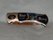 MONSTER 17 INCH BAD TO THE BONE LOCKBACK FOLDING KNIFE knives giant