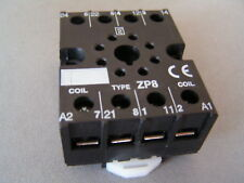 IMO ZP8 Octal-8 Pin Relay Base Screw Terminals 10A 250V I72 MBD007b