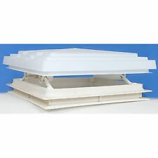Roof Vent Sky Light Caravan Motorhome 400 x 400mm Flynet White MPK Rooflight