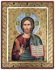 CHRIST BLESSING-Greek Byzantine Orthodox Icon