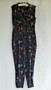 Portmans Floral Printed Jumpsuit Sz12