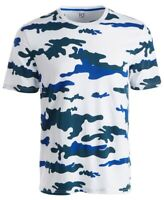 Ideology Mens T-Shirt Classic Blue Size 2XL Camo Print Graphic Tee $25- 315