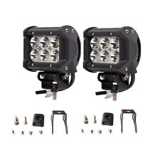 2x 4INCH 36W CREE LED WORK LIGHT BAR SPOT OFFROAD ATV FOG TRUCK LAMP 4WD 12V 6""