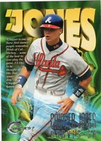 1997 SKYBOX CIRCA BASEBALL CARD #381 - HOF CHIPPER JONES - ATLANTA BRAVES