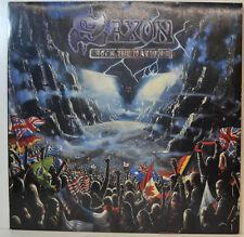 """SAXON - ROCK THE NATIONS - EMI 038-7463711 -12"""" LP (Y404)"""