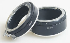 EXTENSION TUBES FOR NIKON SET OF 2 15MM/25MM