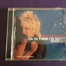 VERY RARE Maxi CD Rod Stewart Do Ya Think Im Sexy Remixed (6 Mixes) Warner Bros