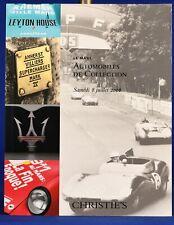 Christie's Auction Catalog Automobiles July 8 2006 Le Mans