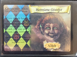 Draco Malfoy holo 2//116 Premium Card Harry Potter TCG CCG Base Set 2001 NM