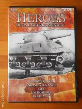 DVD HEROES DE LA II GUERRA MUNDIAL - CAP. IX Y X (H7)