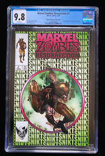 MARVEL ZOMBIES: RESURRECTION #1 (11/20) CGC 9.8 WHITE PAGES GREEN VARIANT 🔥