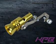 44-55MM TURBO BOV WHISTLE SOUND MUFFLER EXHAUST PIPE TIP INSERT WHISTLER Gold